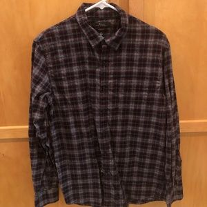 Marc Anthony Mens Flannel Button Down (Size M)